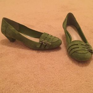 Green Suede Shoes
